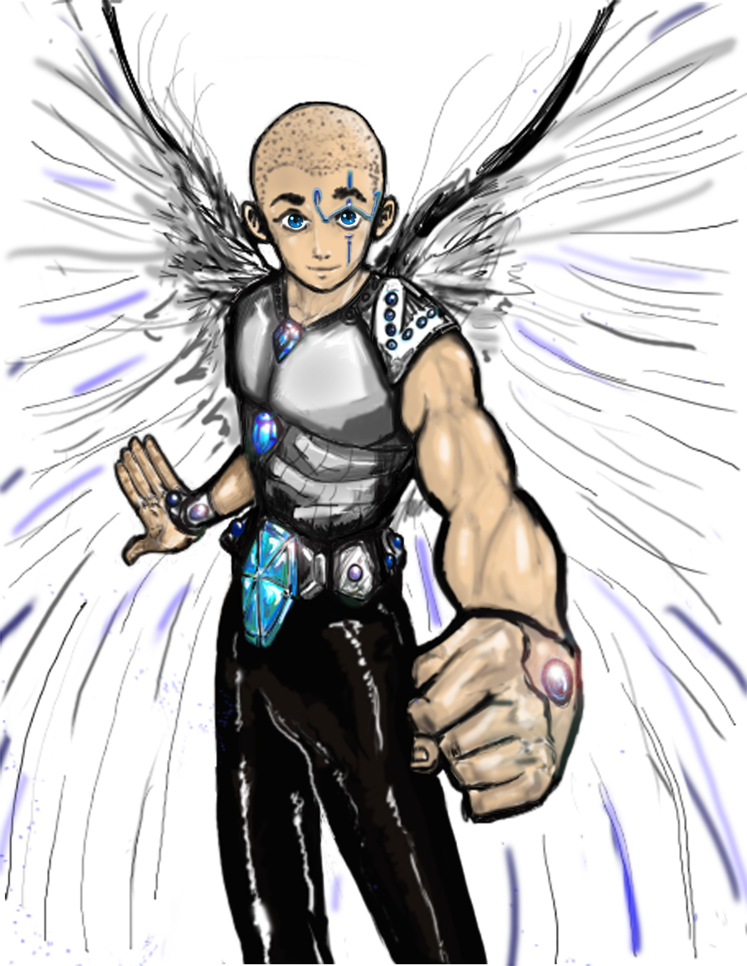 Erel, l'ange qui aide Sorayah dans le roman