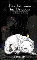 un chat géant au milieu des étoiles avec un jeune guerrier et une adolescente de notre monde