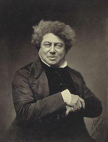 alexandre dumas portrait