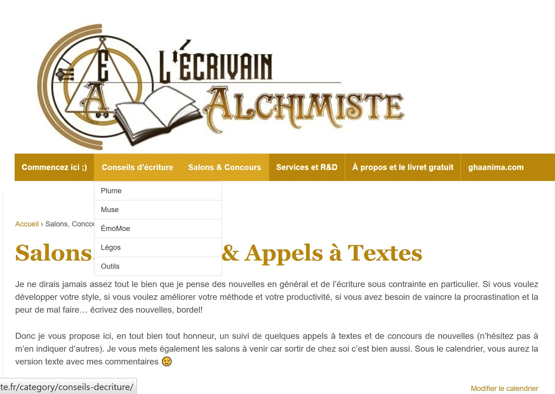 site web alchimiste